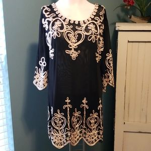 Nwt Simply Couture Elegant Tunic